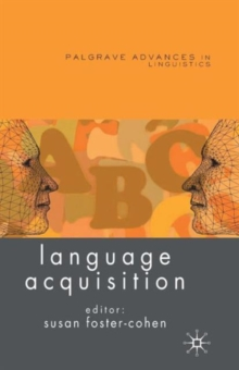 Language Acquisition, Paperback / softback Book
