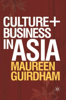 Culture and Business in Asia, Paperback / softback Book