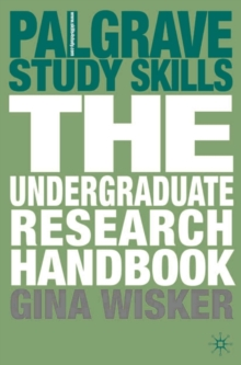 The Undergraduate Research Handbook, Paperback Book