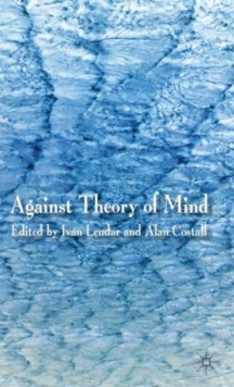 Against Theory of Mind, Hardback Book