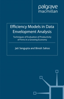 Efficiency Models in Data Envelopment Analysis : Techniques of Evaluation of Productivity of Firms in a Growing Economy, PDF eBook