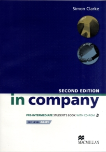 In Company Student s Book CD-ROM Pack Pre-intermediate Level, Mixed media product Book
