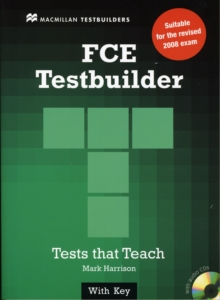 New FCE Testbuilder Student's Book+key Pack, Mixed media product Book