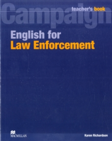 English for Law Enforcement Teacher's Book, Paperback / softback Book
