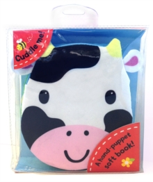 Cuddly Cloth Puppets: Cows Go Moo! : A Soft Book, Rag book Book