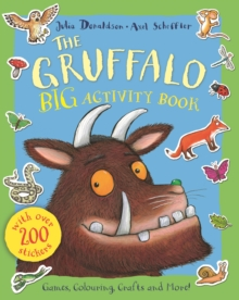 The Gruffalo Sticker Activity Book, Paperback Book