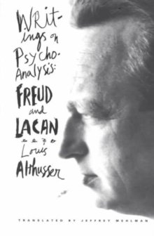 Writings on Psychoanalysis : Freud and Lacan, Paperback / softback Book