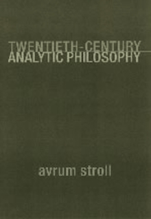 Twentieth-Century Analytic Philosophy, Paperback Book