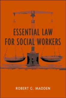 Essential Law for Social Workers, Hardback Book