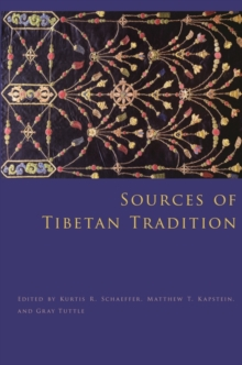 Sources of Tibetan Tradition, Paperback Book
