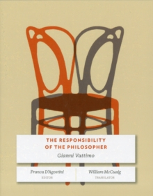 The Responsibility of the Philosopher, Paperback Book