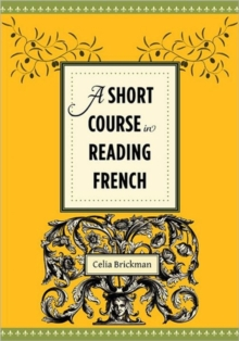 A Short Course in Reading French, Hardback Book