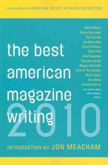 The Best American Magazine Writing 2010, Paperback / softback Book