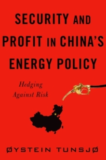Security and Profit in China's Energy Policy : Hedging Against Risk, Hardback Book