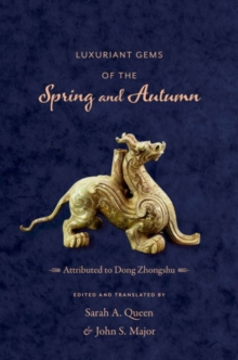 Luxuriant Gems of the Spring and Autumn, Hardback Book