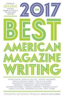 The Best American Magazine Writing 2017, Paperback / softback Book