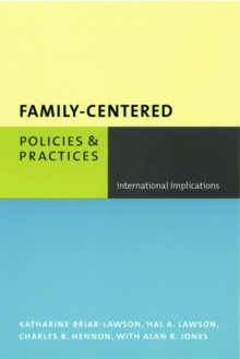 Family-Centered Policies and Practices : International Implications, EPUB eBook