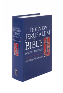 NJB Pocket Edition Cased Bible, Hardback Book