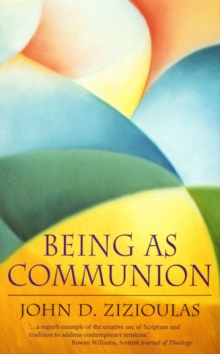 Being as Communion, Paperback Book