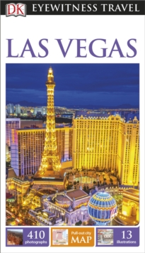 DK Eyewitness Travel Guide Las Vegas, Paperback Book