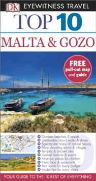 DK Eyewitness Top 10 Travel Guide: Malta & Gozo, Paperback Book