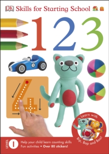 Skills For Starting School 1,2,3, Paperback Book