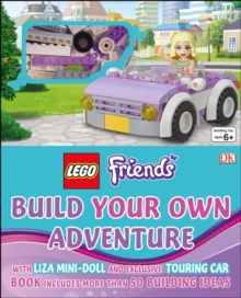 LEGO Friends Build Your Own Adventure, Hardback Book