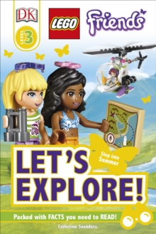 LEGO (R) Friends Let's Explore!, Hardback Book