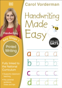 Handwriting Made Easy Ages 5-7 Key Stage 1 Printed Writing, Paperback Book