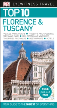 Top 10 Florence and Tuscany, Paperback Book