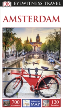 DK Eyewitness Travel Guide Amsterdam, Paperback Book