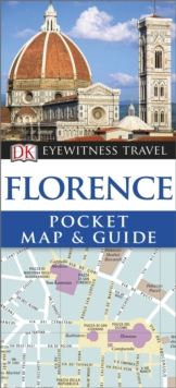 DK Eyewitness Pocket Map and Guide: Florence, Paperback Book