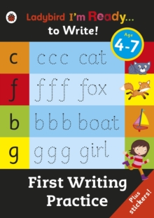 First Writing Practice: Ladybird I'm Ready to Write Sticker Activity Book, Paperback / softback Book