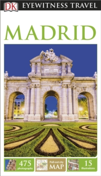 DK Eyewitness Travel Guide Madrid, Paperback Book