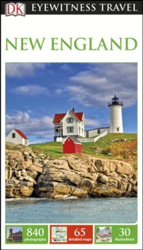 DK Eyewitness Travel Guide New England, Paperback / softback Book