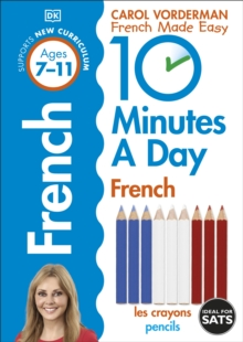 10 Minutes a Day French Ages 7-11 Key Stage 2, Paperback Book
