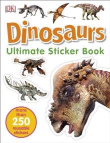 Dinosaurs Ultimate Sticker Book, Paperback Book