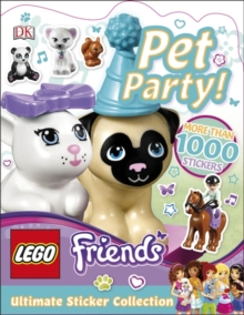 LEGO Friends Pet Party! Ultimate Sticker Collection, Paperback Book
