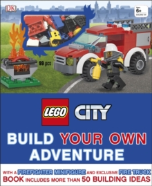 LEGO (R) City Build Your Own Adventure : With Minifigure and exclusive model, Hardback Book