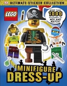 LEGO Minifigure Dress-Up! Ultimate Sticker Collection, Paperback Book