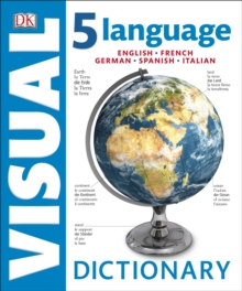 5 Language Visual Dictionary : English, French, German, Spanish, Italian, Hardback Book