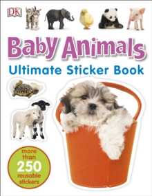Baby Animals Ultimate Sticker Book, Paperback / softback Book