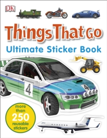 Things That Go Ultimate Sticker Book, Paperback Book
