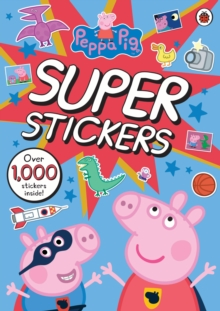 Peppa Pig Super Stickers Activity Book, Paperback Book