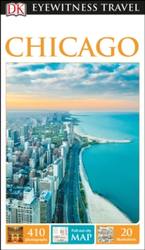 DK Eyewitness Travel Guide Chicago, Paperback Book