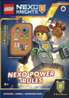 LEGO Nexo Knights: Nexo Power Rules, Paperback Book