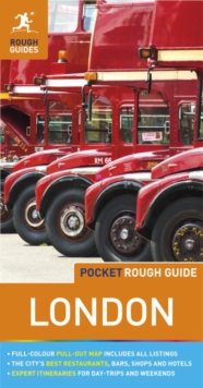 Pocket Rough Guide London, Paperback Book