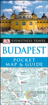 DK Eyewitness Pocket Map and Guide: Budapest, Paperback Book