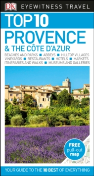 Top 10 Provence and the Cote d'Azur, Paperback / softback Book