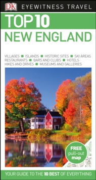 Top 10 New England, Paperback Book